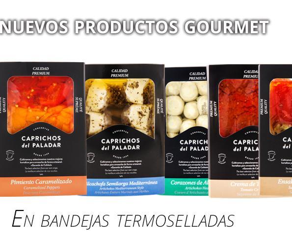 Conservas gourmet. Conservas Vegetales en bandejas termoselladas.