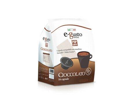 Cioccolatta 6 X 16 PZ. Cápsulas de nuestro delicioso producos en empaque de 16 piezas