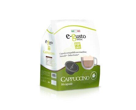 Cappuccino 6 X 16 PZ. Preparada con café espresso y leche montada