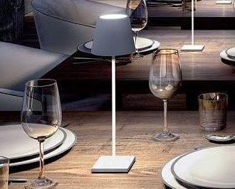 Lámpara de mesa. Gopi Led, Nueva generación, muy elegante.
