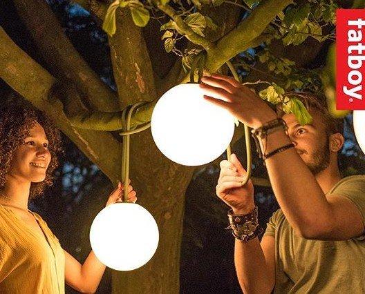 Esferas Inalámbricas. Esferas Bolleke, sin cables para colgar en parasol, jardin, etc