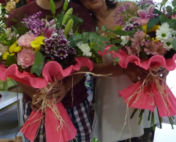 Flores.Ramo de regalo de flores variadas