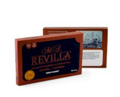 Anchoas en Aceite de Oliva. Serie premium de 120 gramos, en presentación de lujo