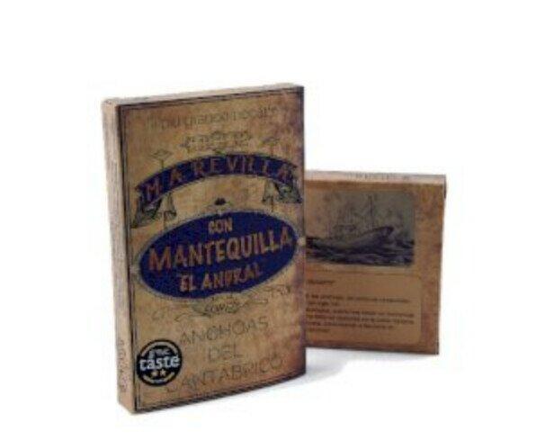 Anchoas en Mantequilla ECO. Ganadoras de tres estrellas en los Great Taste Awards 2020