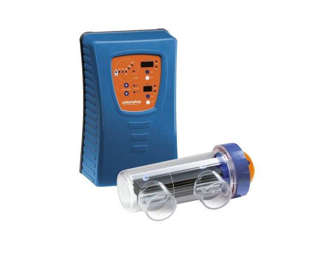 Chlorplus. Unidad de cloración salina capaz de generar cloro a partir de sal común