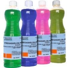 Fregasuelos. Fregasuelos líquido, versátil