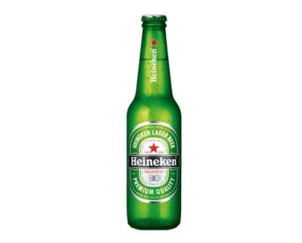 Cerveza Heineken. Cerveza premium tipo pilsen, ligera y moderna