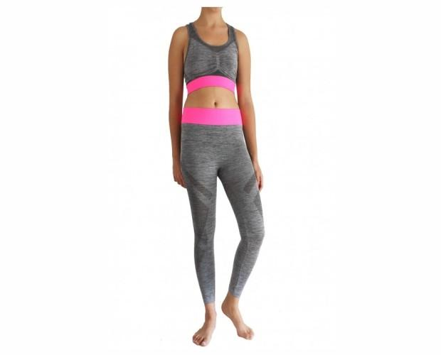Leggings malla. Leggins fitness total shaper capri