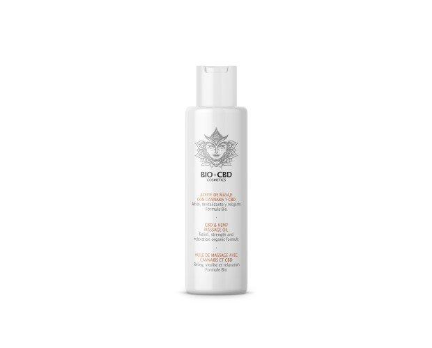 Aceite de masaje. Contiene aceite esenciales biológicos que aseguran el bienestar, la vitalidad y la relajación