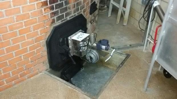 Ingeniería Medioambiental.Específico para horno refractáreo de suela giratoria.