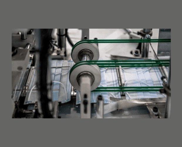 Proceso de Fabricación Único. Capacidad de producción de más de 600.000 mascarillas diarias