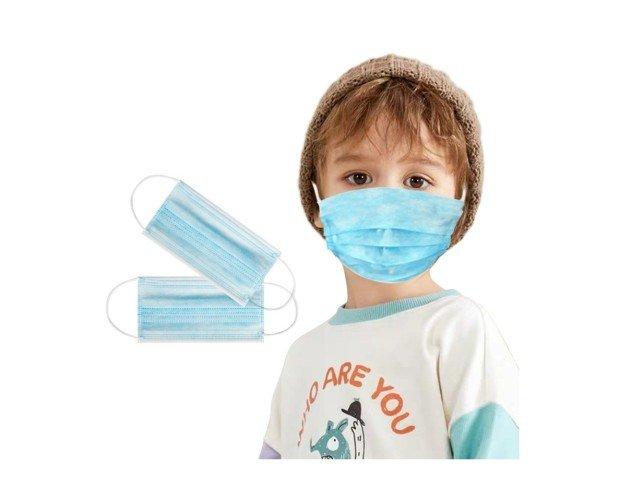 Mascarilla Desechable para Niños. Efecto filtrado Standard BFE 99%