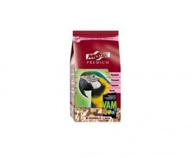 Comida para papagayo. Alimento premium para nuestras mascotas