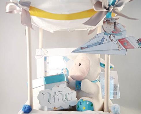 Globo para un bebe. Detalle para un recien nacido