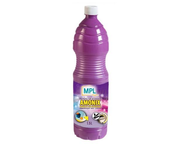 Amoniaco+detergente. Gran poder de limpieza