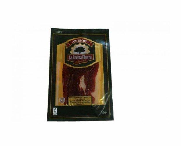Jamón de Bellota Loncheado. Obtenido de la extremidad posterior del cerdo de raza ibérica