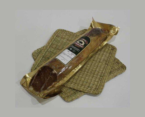 Lomo de Bellota 50% Ibérico. Hecho con los lomos de nuestros cerdos ibéricos alimentados a base de bellota