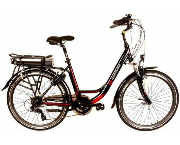 Bicicleta Eléctrica de Paseo. Están pensadas para largos paseos por terrenos mixtos