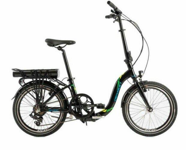 Bicicleta Plegable Cuadro Bajo. Tendrás una autonomía con tu bici eléctrica de hasta 50 Km