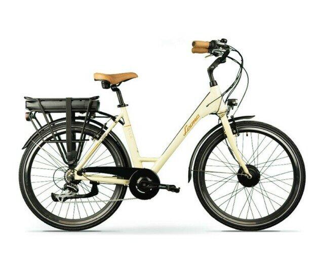 Bicicleta eléctrica NILO LEONE. Con motor delantero GT20NILO de grandes prestaciones