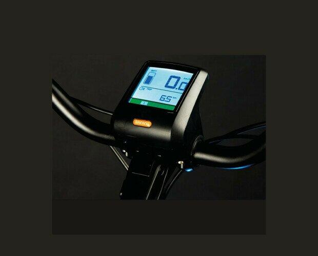 Bicicleta Eléctrica SUMMER LEONE. Marca del motor BAFANG. Con tablero digital incorporado
