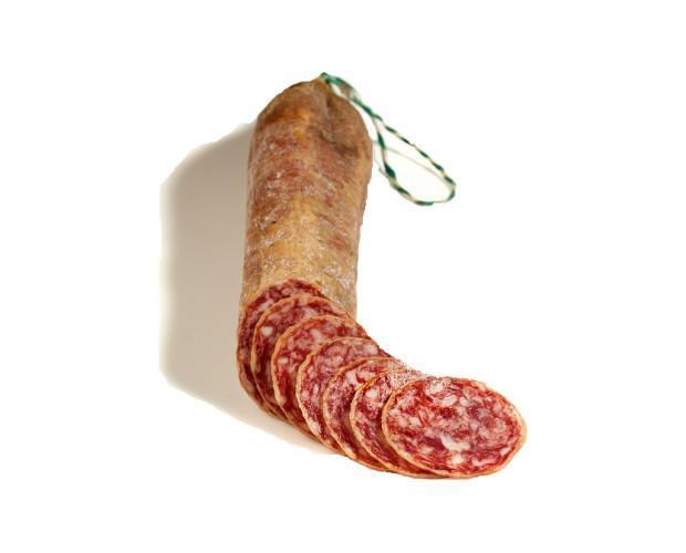 Salchichón Ibérico.El salchichón ibérico es elaborado con los mejores magros