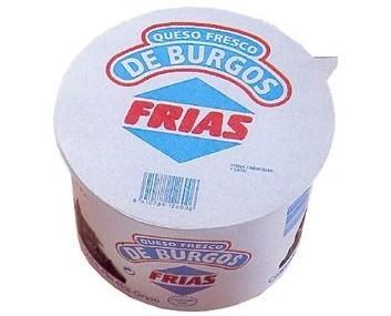 Queso de Burgos. Queso fresco Frias