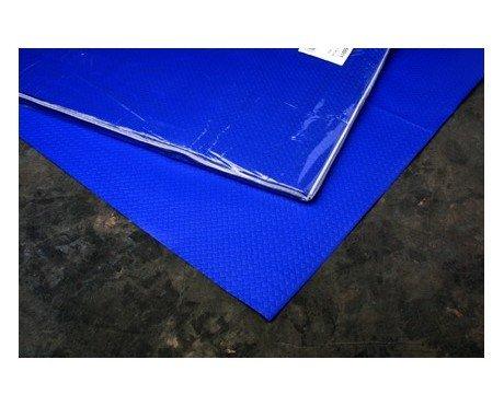 Mantel azul oscuro. Mantel desechable