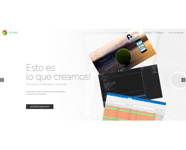 Intteko. Aplicaciones móviles (iOS/Android) y aplicaciones escritorio (Windows)