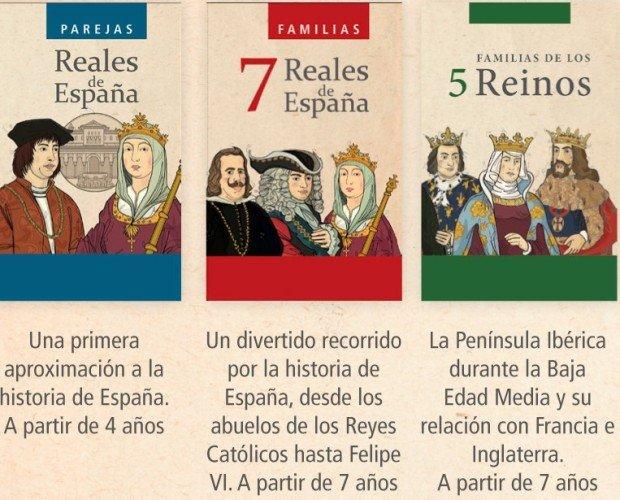 3barajas. Trilogía de Parejas Reales; 7 Familias Reales de España y Familias 5 Reinos en pack