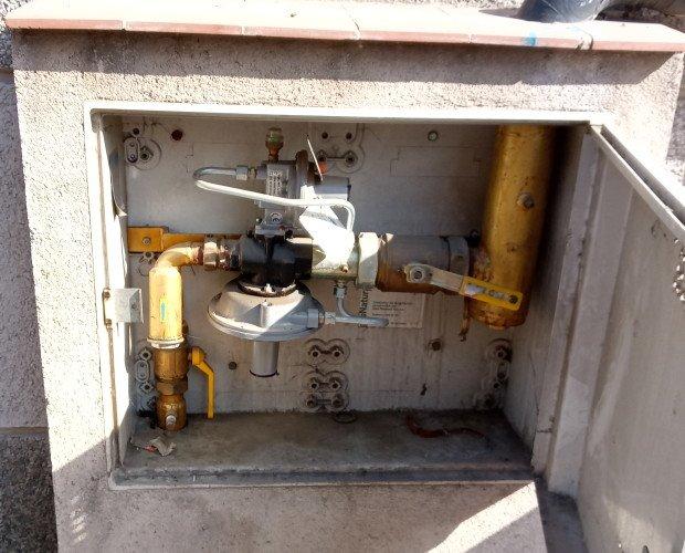 Instalación GAS Natural. Panificadora en Madrid donde realizamos la conexión e instalación de gas natural