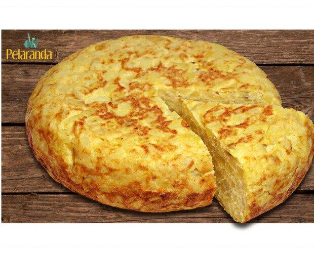 Tortilla de Patatas c/s cebolla. La auténtica tortilla tradicional elaborada a diario. Con o sin cebolla.