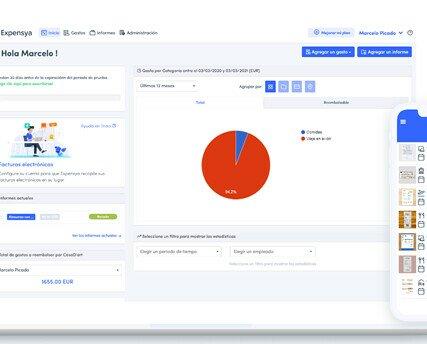 Software de Contabilidad.Solución móvil y web para la gestión de gastos profesionales