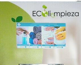 Ecoliempieza. Con pantalla táctil para dispensar hasta 4 productos de limpieza iguales o diferentes