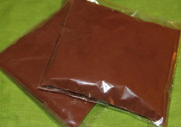 Cacao en polvo. Cacao en polvo en bolsas de 150 y 200 gramos