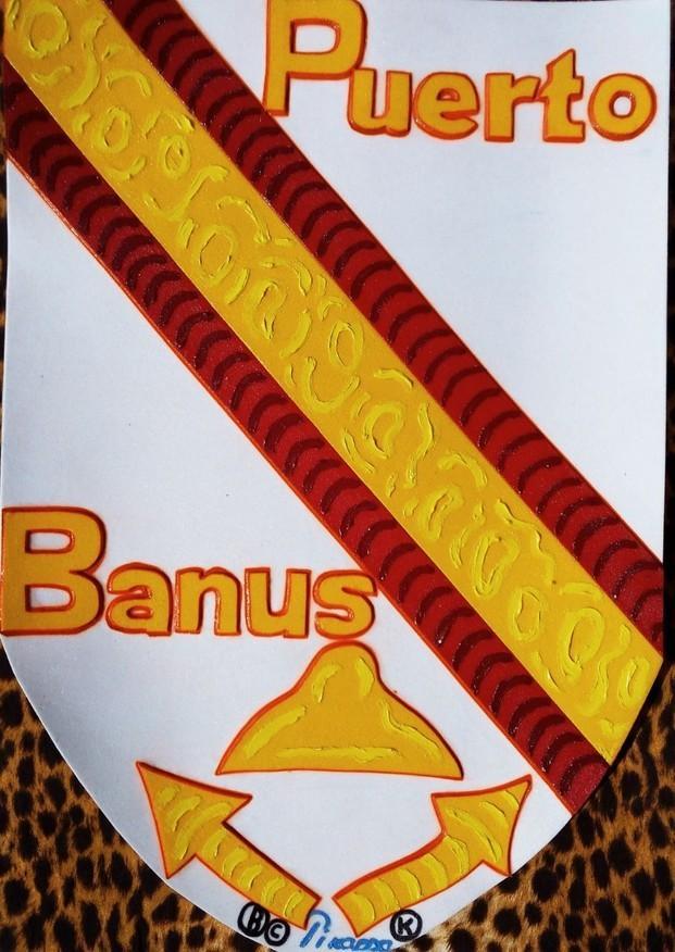 Puerto BanúsEscudo. Serie Escudos44*66 cmLuxury souvenir Art design Logo Puerto Banús