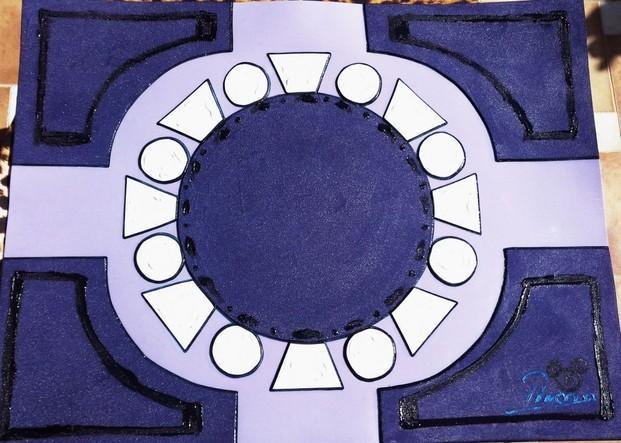 Flor Puerto Banús. Serie flores. Luxury designSouvenir 56*70 cmWonderful style New Art design