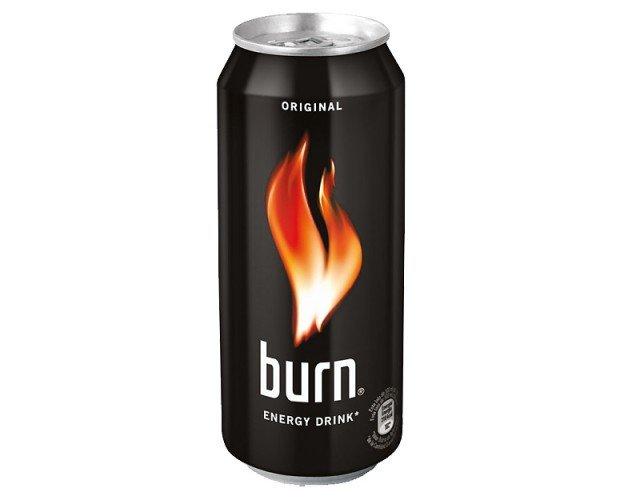Burn. Bebida energizante Burn