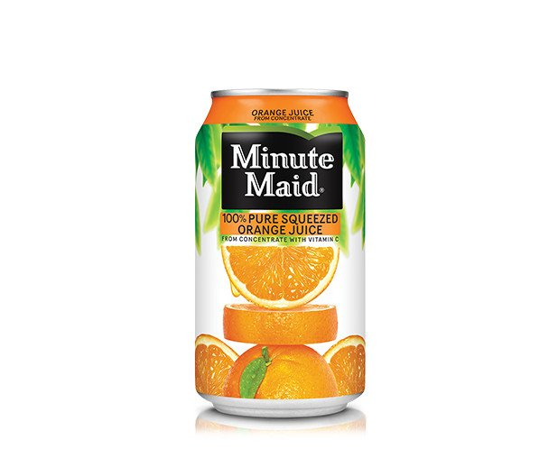 Minute Maid. Zumos de naranja Minute Maid 100% naturales
