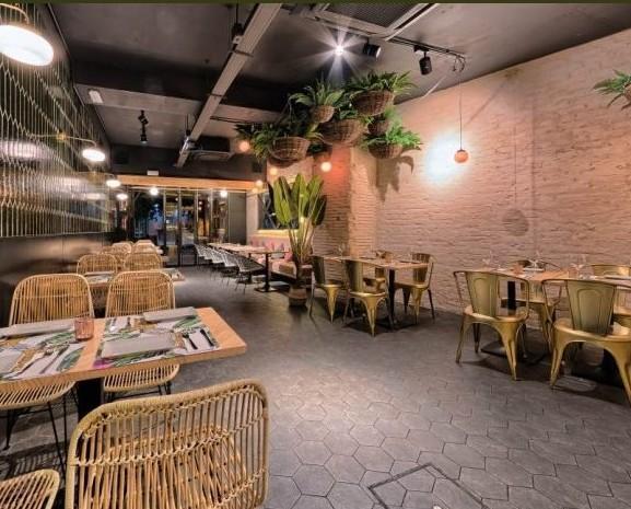 Decoración de restaurante. Proyecto Bar Restaurante Bananna, Sevilla