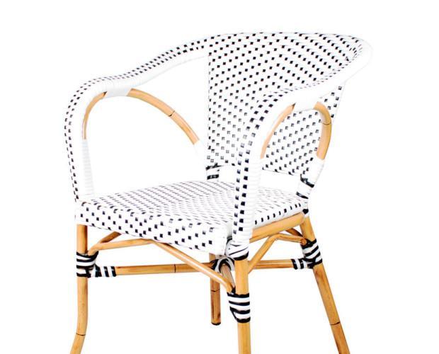 Muebles para Bares. Sillas. Silla de aluminio médula sintética