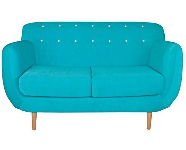 Sofá norfai. Hermoso sofá azul