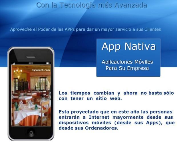 App Nativa. Desarrollo de aplicaciones