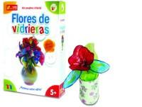 Flores vidriera
