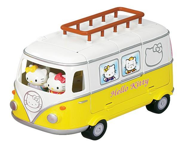 Caravana Hello Kitty. Van de Hello Kitty