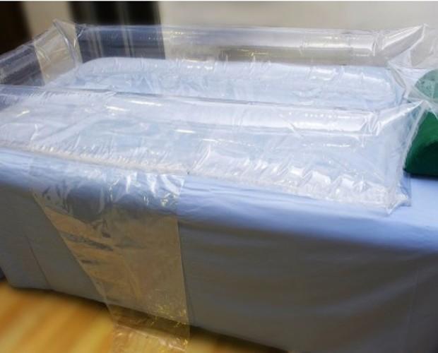 Bañeras hinchables. Bañera hinchable para cama Sanebath