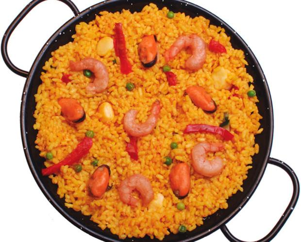 Paella ciega. Cocina mediterranea totalmente natural sin aditivos ni conservantes