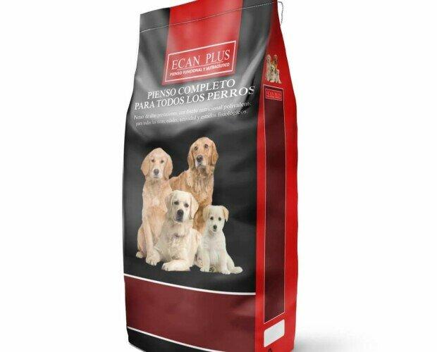 ECAN PLUS 10KG. Pienso para perros de alta gama con propiedades nutraceúticas y funcionales