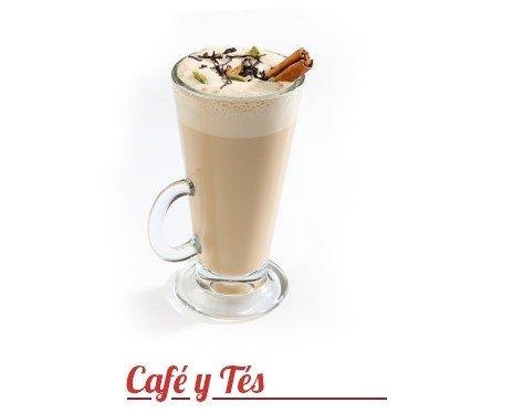 Chai Latte. Simplemente rico