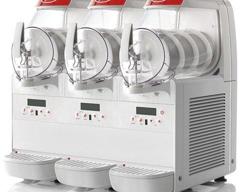 Máquinas Helados. Máquina de tres sabores